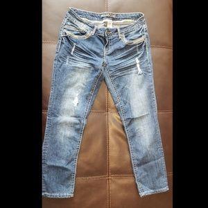 Maurices Brand Jean Capri Size 3/4